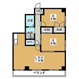 コンフォール[3階]の間取り