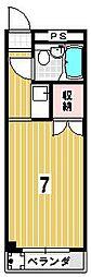 ハイツタケイチ[306号室]の間取り