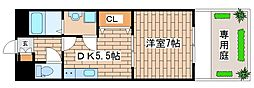 兵庫県神戸市西区玉津町水谷1丁目の賃貸マンションの間取り