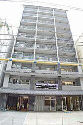 京都府京都市中京区橋弁慶町の賃貸マンションの外観