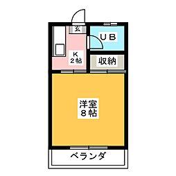 おりいぶ荘[1階]の間取り