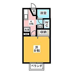 メゾンたちばな C棟[1階]の間取り