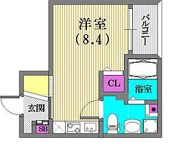サンクラッソ神戸山手[202号室]の間取り