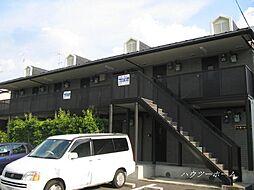 京都府京都市左京区松ケ崎芝本町の賃貸アパートの外観