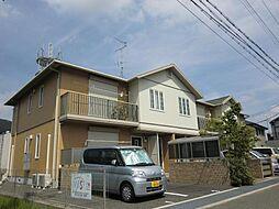 奈良県生駒市壱分町の賃貸アパートの外観