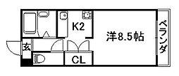 アザレア館[1階]の間取り