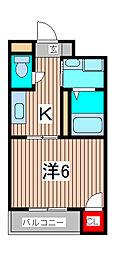 埼玉県さいたま市浦和区仲町1丁目の賃貸アパートの間取り