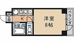 第24長栄アビタシオン[407号室号室]の間取り