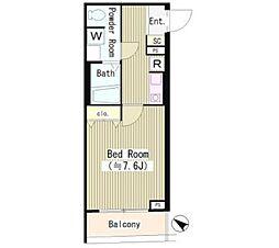 UTA HOUSE(ユータハウス) 1階1Kの間取り