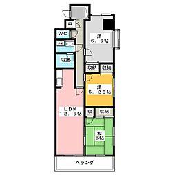 ザ・ミレニアムタワー[3階]の間取り