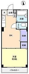 MYマンションPart3[2階]の間取り
