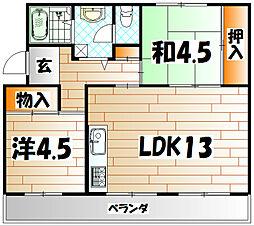 カワモトビル[2階]の間取り