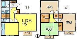 [一戸建] 神奈川県横浜市磯子区磯子6丁目 の賃貸【/】の間取り