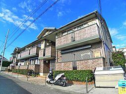 東京都足立区谷在家3丁目の賃貸アパートの外観