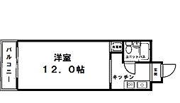 白倉マンション[6階]の間取り