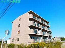 三重県桑名市長島町西外面の賃貸マンションの外観