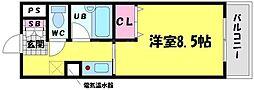 黒川太子橋マンション[4階]の間取り