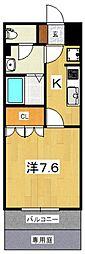 プルミエール・エフ[103号室号室]の間取り
