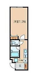 仮称)桜川3丁目計画[4階]の間取り