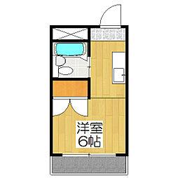 石川マンション[311号室]の間取り