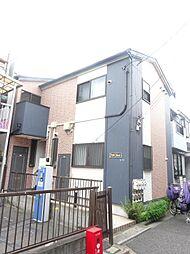 東京都北区東十条6の賃貸アパートの外観