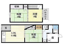文の里駅 8.0万円