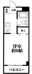 ピア ファミール91[503号室]の間取り