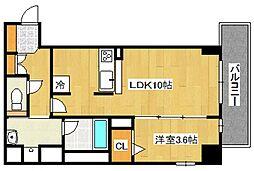 仮称 横堤2丁目プロジェクト[401号室号室]の間取り
