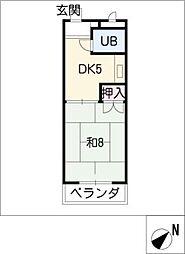 グランドオーレ[3階]の間取り