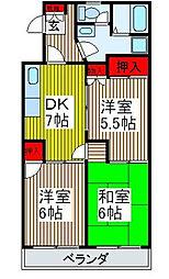 第8池田マンション[1階]の間取り