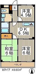 ラークアベニューTAGAI[3階]の間取り