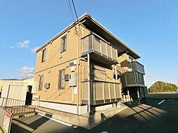 静岡県富士市中里の賃貸アパートの外観
