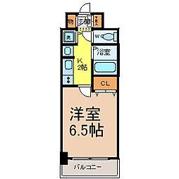 プレサンス新栄デコール[3階]の間取り
