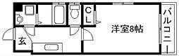 ドーリア北野東[3-A号室]の間取り