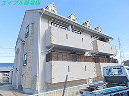 三重県桑名市大字播磨の賃貸アパートの外観