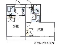 神奈川県横浜市港北区小机町の賃貸マンションの間取り