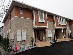 神奈川県海老名市中野1丁目の賃貸アパートの外観