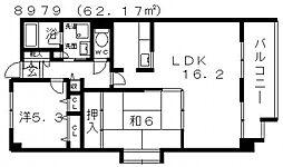 シャルマンドミール[106号室号室]の間取り