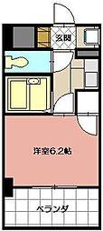 ライオンズマンション三萩野駅前[704号室]の間取り