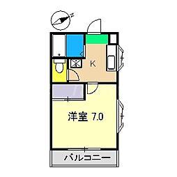 ビタミンハウス[3階]の間取り