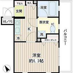 アイビー菅沢[4階]の間取り