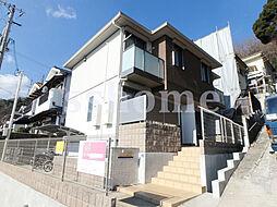 兵庫県神戸市灘区城の下通1丁目の賃貸アパートの外観
