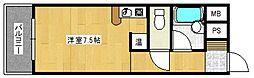 ロマネスク通町[5階]の間取り