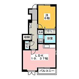 トリニティハウス[1階]の間取り