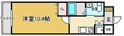 フェニックスレジデンス堺東[2階]の間取り