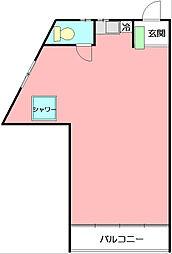 早川磯崎アパート[2階]の間取り