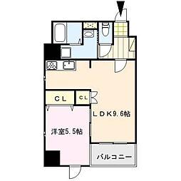 J-PLACE東町[7階]の間取り