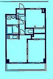 ベルデュール宮前平[4階]の間取り