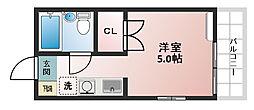 テグレ210[203号室]の間取り