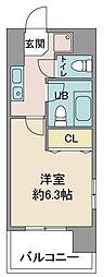 クアトロエスペランサ[2階]の間取り